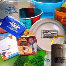 Generosity: The goodies you might receive from an Afropolitan party.