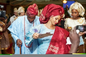 Regal: I absolutely love seeing traditional Nigerian outfits. Everything about it  communicates infinite swag!