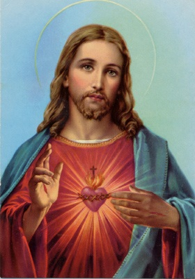 'White' Jesus: we had this at home.