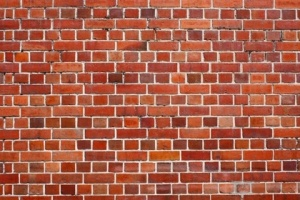 Brick wallpaper: Love it or hate it this was very popular back in the day.