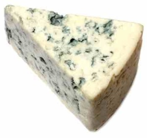 Blue cheese: Dad's feet had a similar fragrance! (Just kidding )