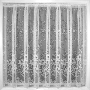 Net curtains: This standard in an Afropolitan home.