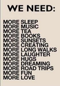 My personal manifesto...